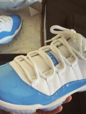 AIR JORDAN RETRO 11 LOW «COLUMBIA»
